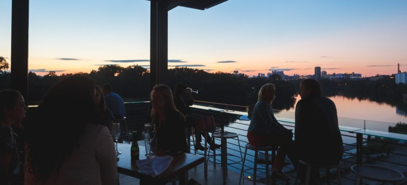 Best outdoor seating Richmond, VA - Boathouse