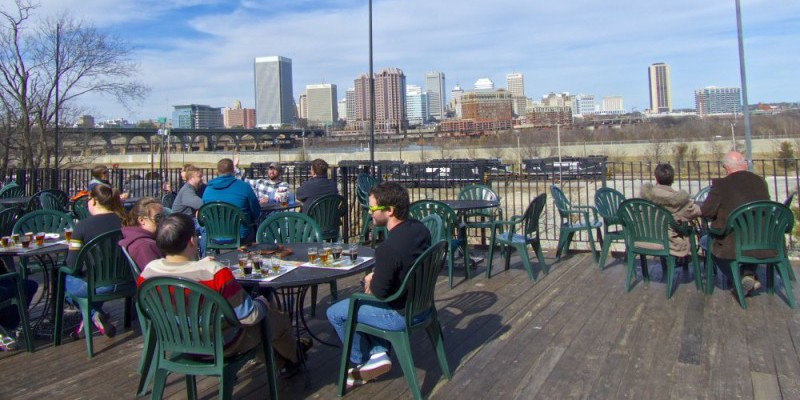 Best outdoor seating Richmond, VA - Legend Brewing Co.