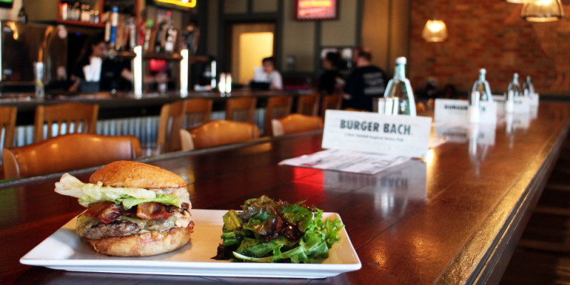 Best burgers Richmond VA - Burger Bach