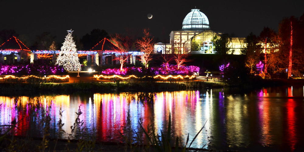 Things to do in Richmond in Winter - GardenFest of Lights