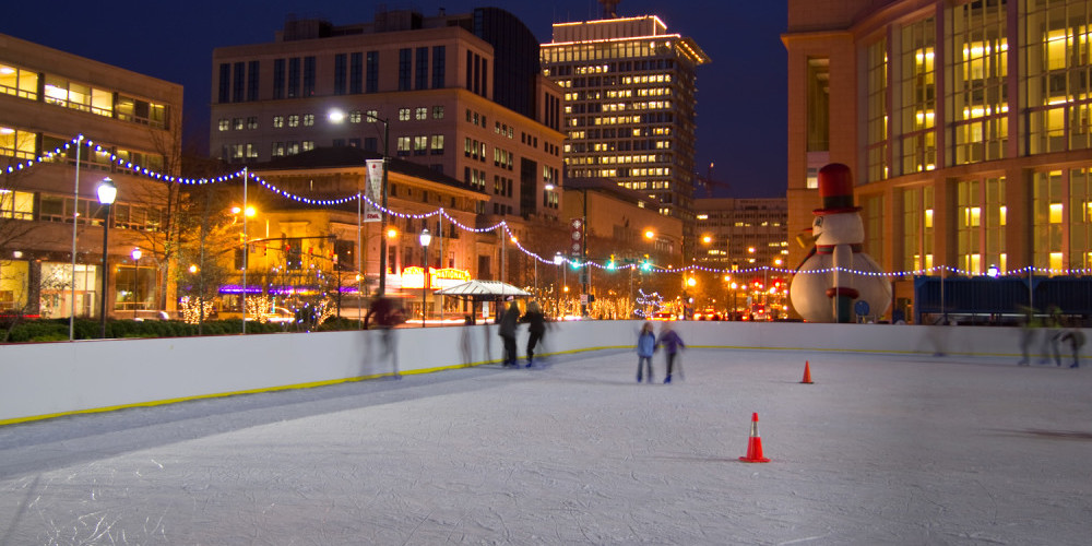 Things to do in Richmond in Winter - Skate RVA On Ice