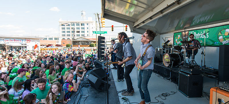 Spring Events and Festivals in Richmond, VA - Shamrock the Block