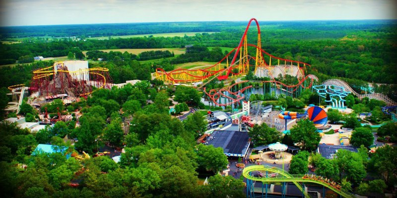 Things To Do In Richmond in Summer - Kings Dominion