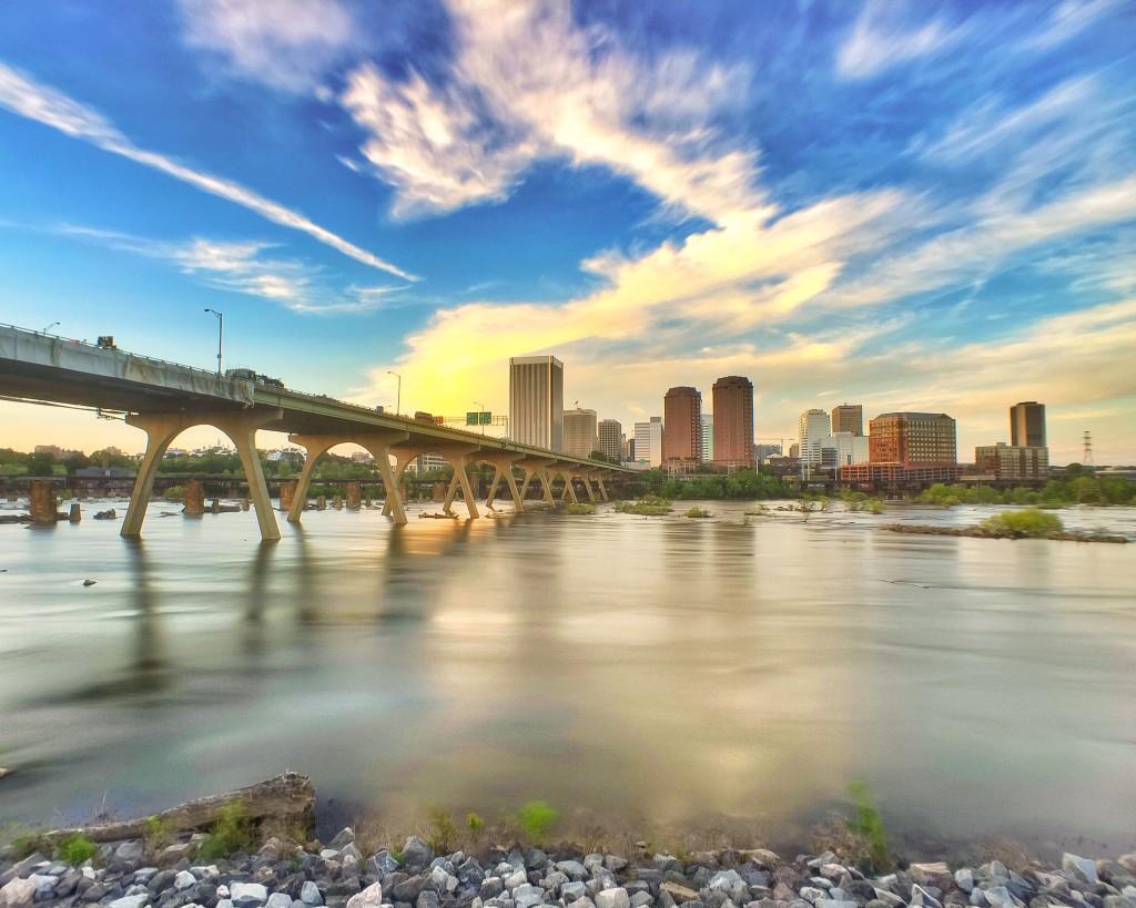 Best Views in Richmond, VA - Floodwall Walk