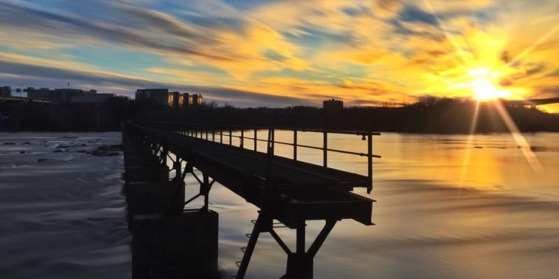 Best Views in Richmond, VA - Brown's Island
