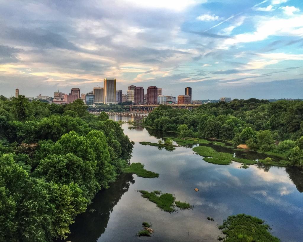 Best Views in Richmond, VA - Lee Bridge