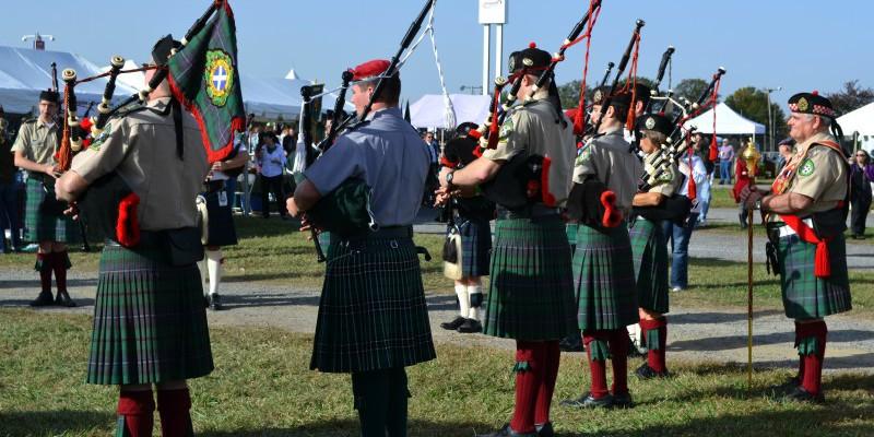 Festivals & Events in Fall in Richmond, VA - Celtic Festival & Highland Games