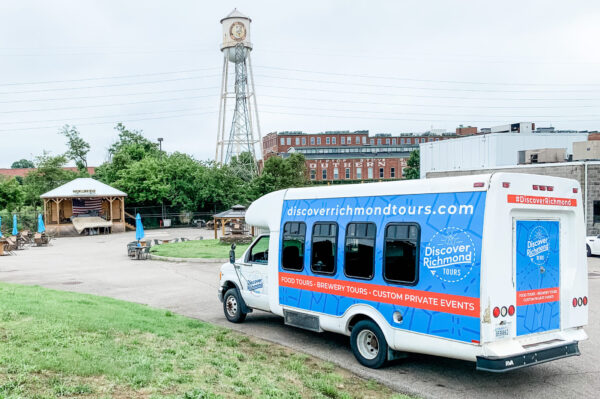 Discover Richmond Brewery Tours Bus